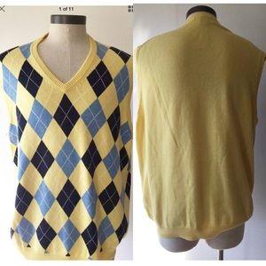 Brooks brother men's XXL Sleeveless sweater